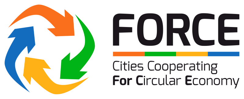 FORCE Cities Cooperating for Circular Economy (Logo)